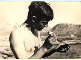 Anni '60. Al mare.