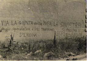 Maggio 1978. Scritte durante la campagna elettorale