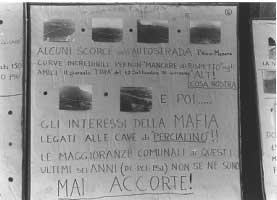 """7 maggio 1978. Mostra """"Mafia e territorio"""""""