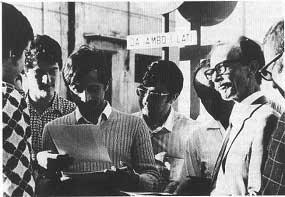 """1969. Al circolo """"Che Guevara""""."""