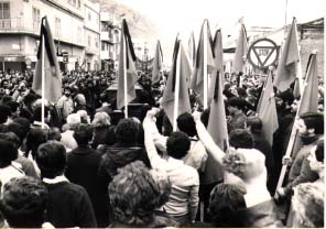 © Franco Zecchin  10 maggio 1978. Funerali di Peppino