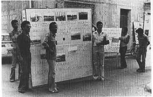 1976. Mostra itinerante sul territorio