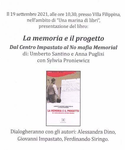 La memoria e il progetto